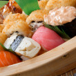 Set of japanese sushi. - Photo