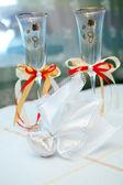 свадебный бокал — Стоковое фото