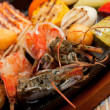 Seafoods with vegetable — Stock Photo #7400181