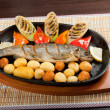 Stock Photo: Grilled Trout .japanese cuisine