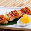Japanese skewered seafoods — Stock Photo #7400641