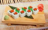 Sushi japonés — Foto de Stock
