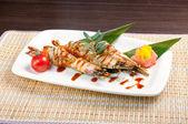 Royal tiger shrimps — Stock Photo