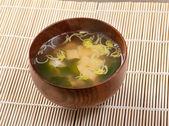 Japanese soup — Stock Photo