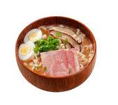 Delicious miso ramen — Stock Photo