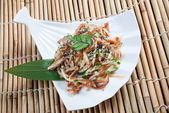 Chinese dish pig ear — Stock Photo