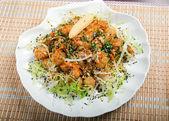 Seafoods in Tempura Pastry — Stock Photo