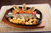 Grilled Trout .japanese cuisine — Stock Photo