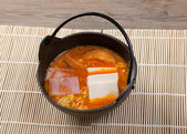 Japanese soup — Stock Photo