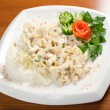 Salad with sirloin chicken — Foto de stock #7909965