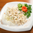 Foto Stock: Salad with sirloin chicken