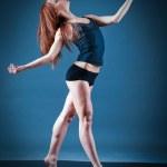 .female performing — Stock Photo #7910127