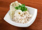 Salad seafoods. — Stock Photo