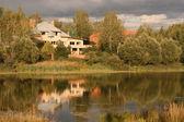 川の家 — ストック写真