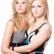 Portrait of two pretty young women — Stock Photo #6903301