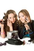 Duas namoradas bonitas — Foto Stock