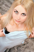 Pretty young blonde — Stock Photo