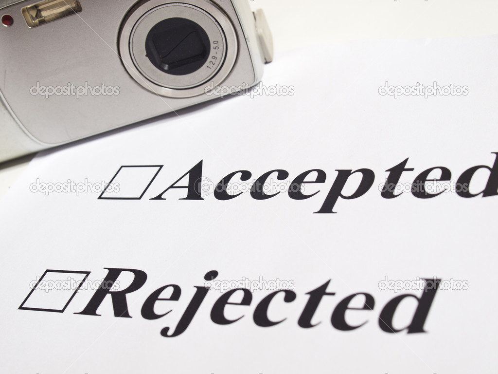 Choosing an inspector for acceptance on photo stock photo — Stock Photo #7356750