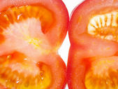 Tomate close up — Stock fotografie