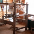 Stock Photo: Ukrainiancient weaving loom