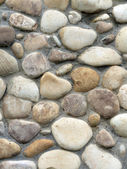 Stone wall vertical — Stock Photo