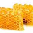 Stock Photo: Honeycomb close up