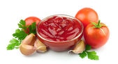 Tomato paste with spices — Stock Photo
