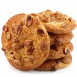 Cookies with peanuts - Stock Photo