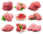 Meat collectionon — Stock Photo