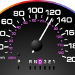 Speedometer. Accelerating Dashboard. Vector illustrator - Stok Vektör