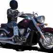 Vector de stock : Biker. Vector illustration