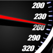 Sport car speedometer - Stock Vector