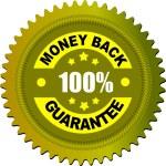 Label money back guarantee — Stock Vector #6966427