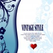 Wedding or Valentine`s day card — Imagen vectorial