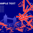 Britain image background — Stock Vector #7086085