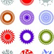 Decorative elements for designers - Stock Vector