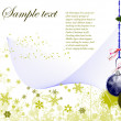 Royalty-Free Stock ベクターイメージ: Abstract Christmas background