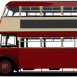 London double Decker red bus. Vector illustration — Stock Vector #7952424