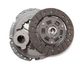 Automobile engine clutch. Isolated on white with clipping path — Stock Photo