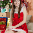 Christmas portrait — Stockfoto
