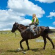 Horseback riding — Stock Photo #6854311