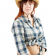 Pastoral  woman — Stock Photo