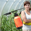 Female gardener — Stock Photo #6854748