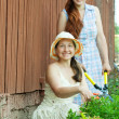 Two female florists — Stock Photo #6854843