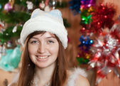 Christmas portrait — Stock Photo