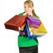 Girl with shopping bags — Stock Photo #6874810