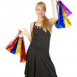Girl with shopping bags — Stock Photo #6874816