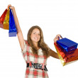 Happy teen girl — Stock Photo #6875066