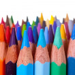Pencils over white background — Stock Photo #6878820