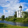 Church of Intercession on River Nerl — Stock Photo #6878948